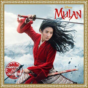 Calendário 2021 Mulan