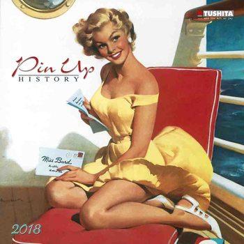 Calendário 2021 Pin Up History