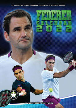 Calendário 2022 Roger Federer