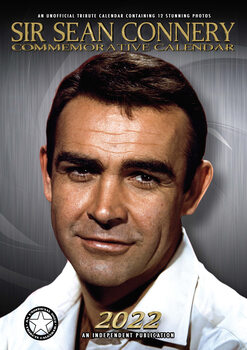 Calendário 2022 Sean Connery