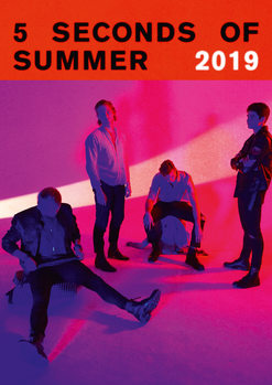 Calendário 2019  5 Seconds Of Summer