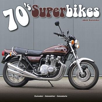 Calendário 2021 70'S Superbikes