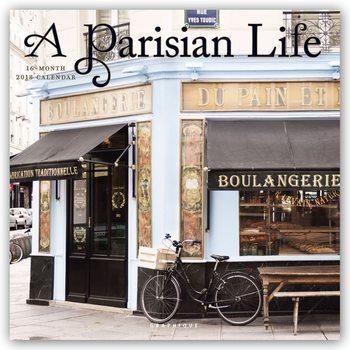 Calendário 2018 A Parisian Life
