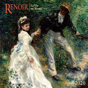 Calendário 2020  A. Renoir - La Vie en Rose
