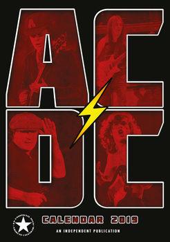 Calendário 2019  AC/DC