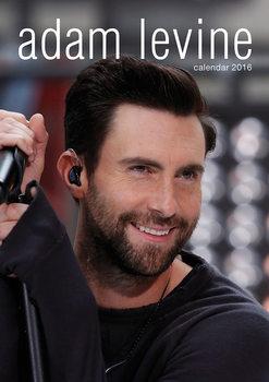 Calendário 2018 Adam Levine (Maroon 5)
