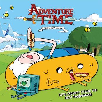 Calendário 2019  Adventure Time