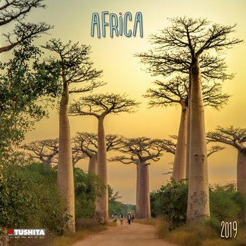 Calendário 2019  Africa