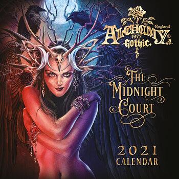 Calendário 2021 Alchemy - Gothic