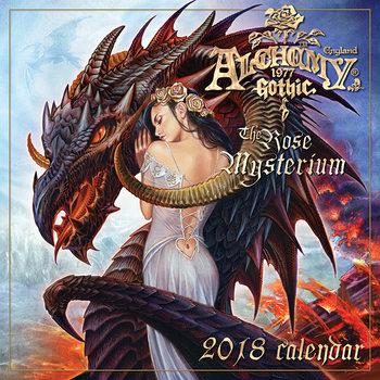 Calendário 2018 Alchemy