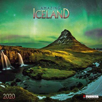 Calendário 2020  Amazing Iceland