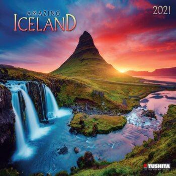 Calendário 2021 Amazing Iceland