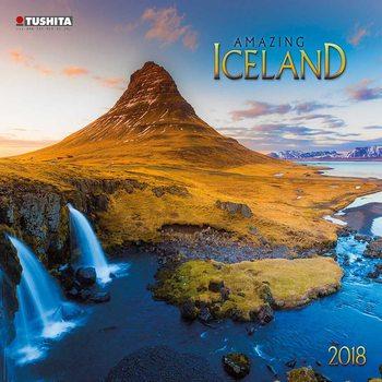 Calendário 2018 Amazing Island