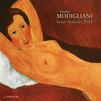 Calendário 2018  Amedeo Modigliani - Sweet Moments