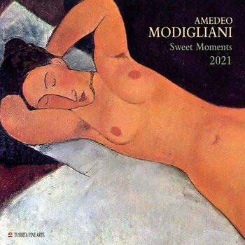 Calendário 2021 Amedeo Modigliani - Sweet Moments