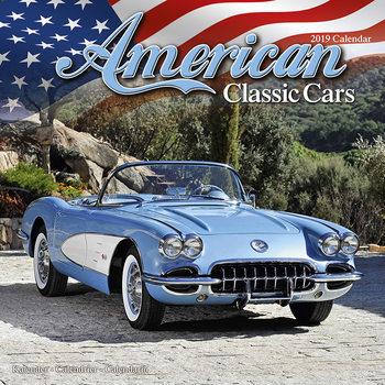 Calendário 2019  American Classic Cars