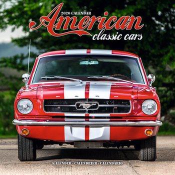 Calendário 2020  American Classic Cars