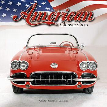 Calendário 2021 American Classic Cars
