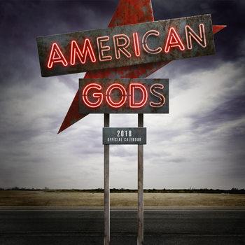 Calendário 2018 American Gods