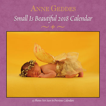 Calendário 2018 Anne Geddes - Small is Beautiful