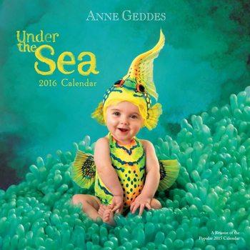 Calendário 2018  Anne Geddes - Under the Sea