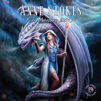 Calendário 2019  Anne Stokes