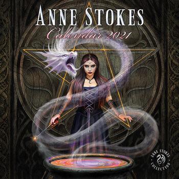Calendário 2021 Anne Stokes