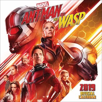 Calendário 2019  Ant-man And The Wasp