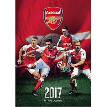 Calendário 2017 Arsenal