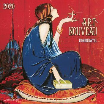 Calendário 2020  Art Nouveau