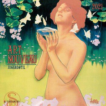 Calendário 2021 Art Nouveau