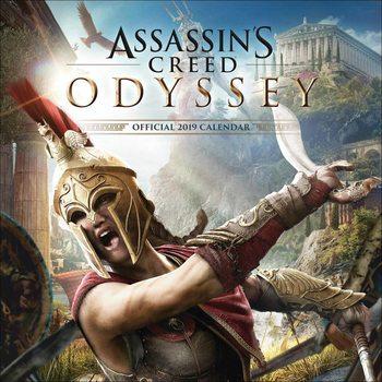 Calendário 2019  Assassin's Creed Game