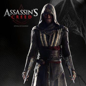 Calendário 2017 Assassin's Creed