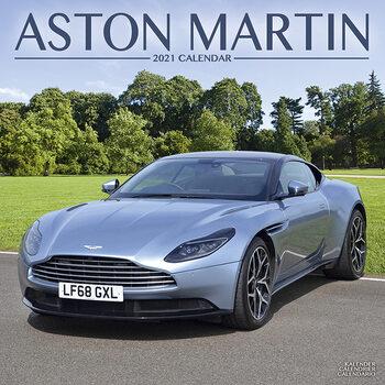 Calendário 2021 Aston Martin
