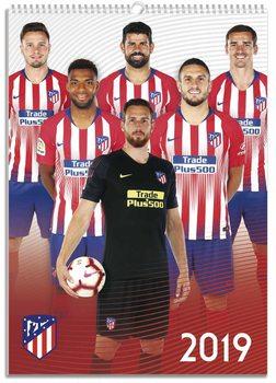 Calendário 2019  Atletico Madrid
