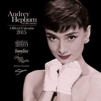 Calendário 2018 Audrey Hepburn