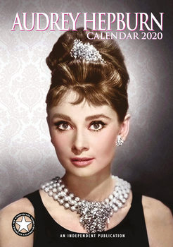 Calendário 2020  Audrey Hepburn