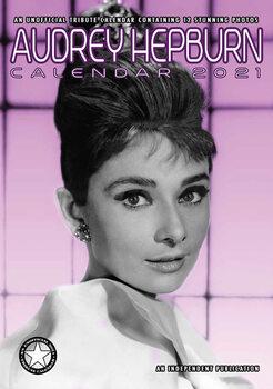 Calendário 2021 Audrey Hepburn