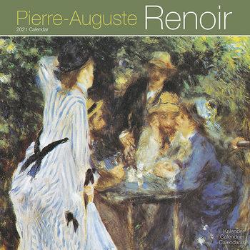 Calendário 2021 Auguste Renoir