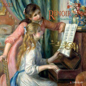 Calendário 2021 Auguste Renoir - La Vie en Rose