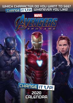 Calendário 2020  Avengers: Endgame – Change It Up