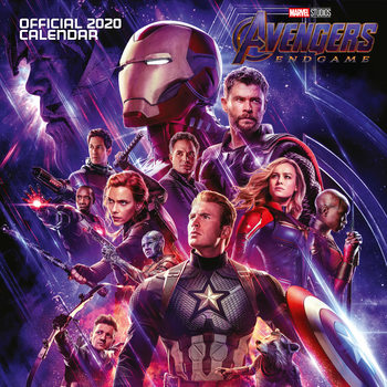 Calendário 2020  Avengers: Endgame