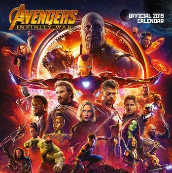 Calendário 2019  Avengers Infinity War