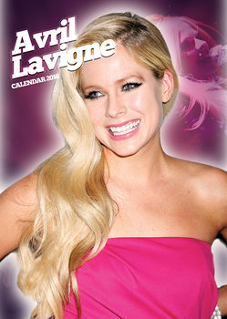 Calendário 2018  Avril Lavigne