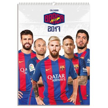Calendário 2017 Barcelona