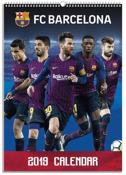Calendário 2019  Barcelona