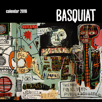 Calendário 2018  Basquiat Street Art