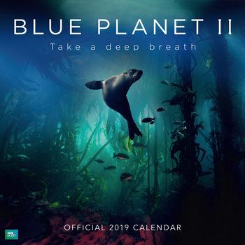 Calendário 2019  BBC Blue Planet