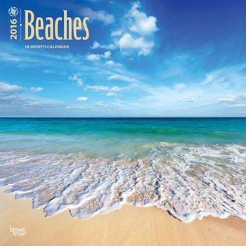 Calendário 2018  Beaches