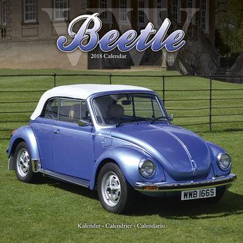 Calendário 2018 Beetle (VW)